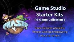 Game Studio Starter Kit (6 Game Collection)